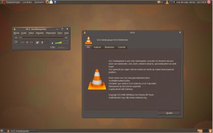 Ubuntu Intrepid met standaard (alsnog) laatste versie VLC