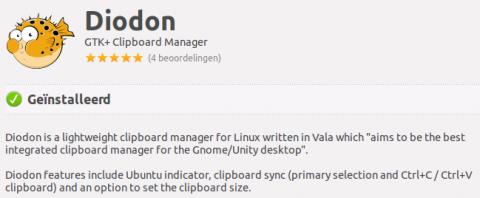 Diodon klembord manager