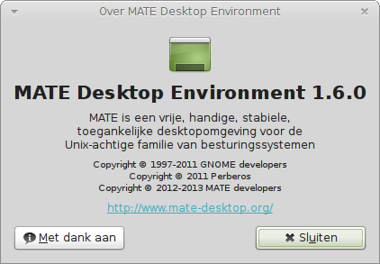 Over MATE Desktop Environment