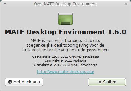 Over MATE Desktop Environment