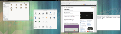 Digiplace.nl: Fedora 20 dual screen