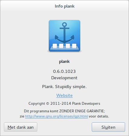 Plank..een dock voor Ubuntu
