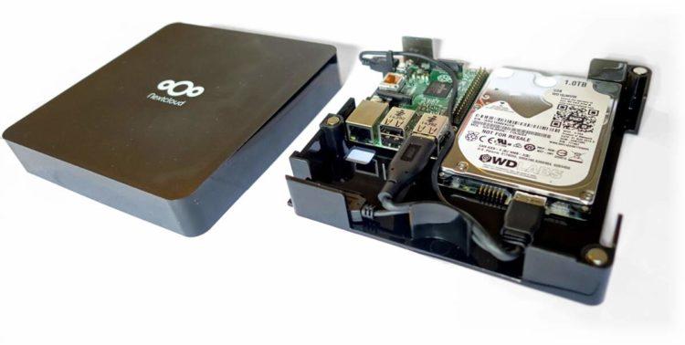 Nextcloud Box van binnen