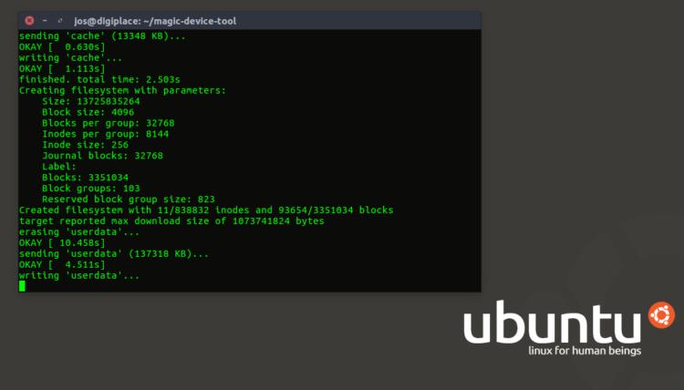 Installeer Ubuntu Touch