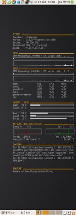 Conky op Digiplace desktop