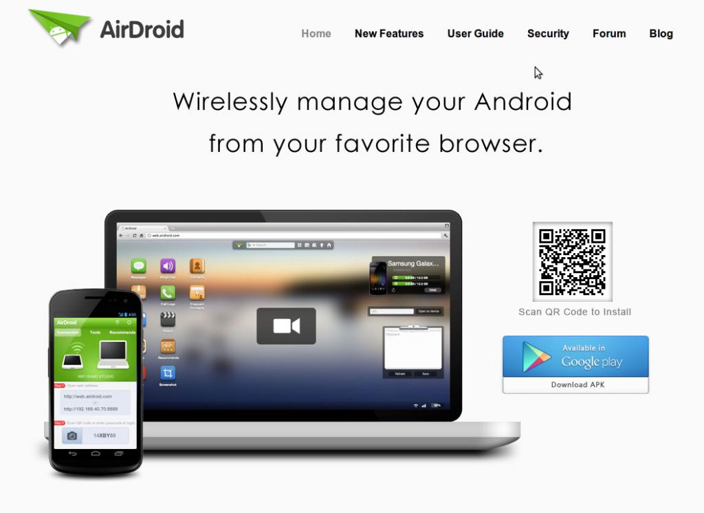 Een Android desktop op je computer met Airdroid