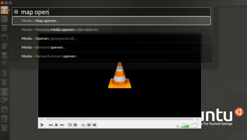 VLC Hud map openen