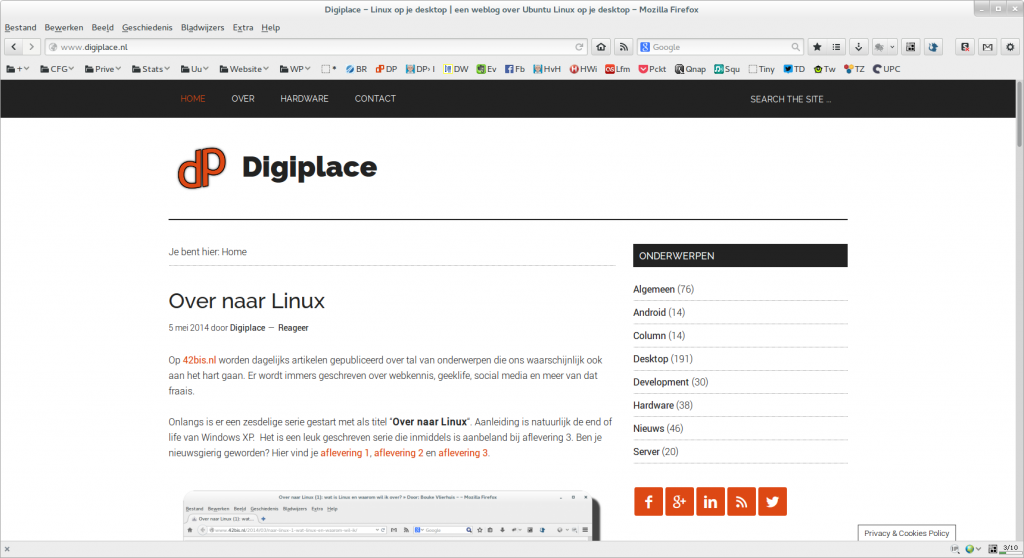 Firefox optimaliseren voor Ubuntu GNOME