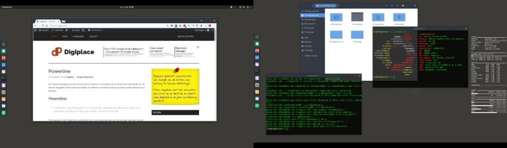 Digiplace weer terug naar Ubuntu